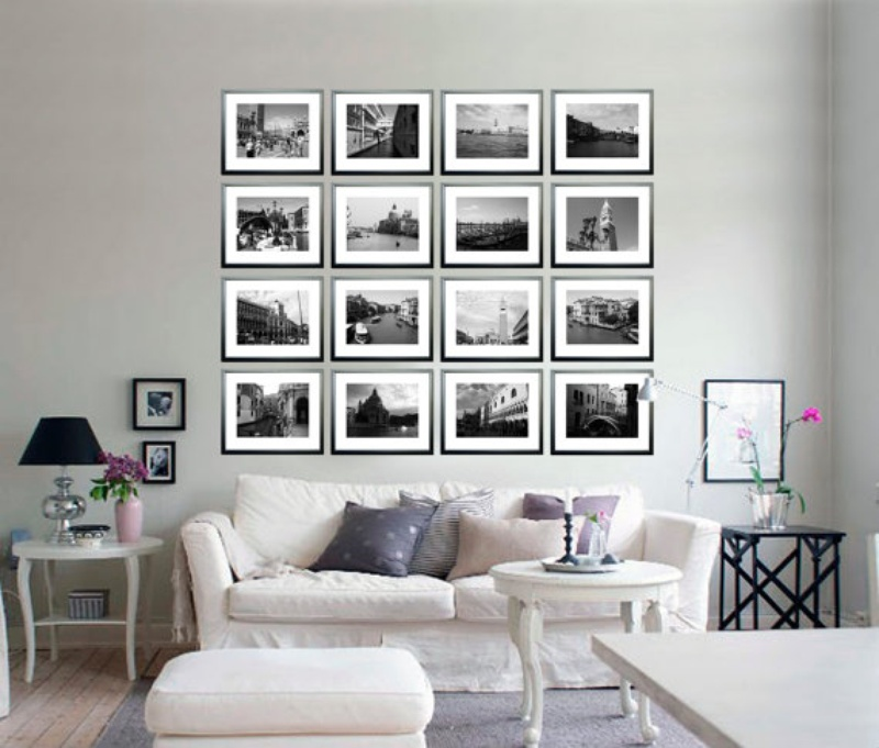 Black and white wall decor jpg