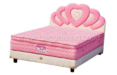 Kasur Bigland HELLO KITTY PLUSHTOP LATEX