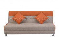 Sofabed IVANKA 2 warna - Sweet Orange