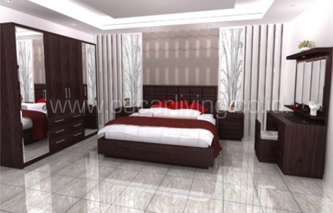 Bed Set Design Ruang Toronto
