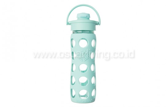 Lifefactory 16oz Bottle Flip Cap Turquoise
