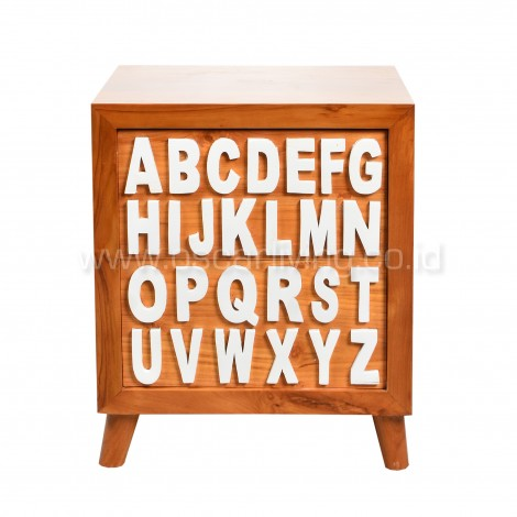 OLC Side Table Alphabetic