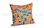 Bantal Sofa Decoration Motif Little Paris Q3024