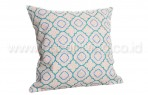 Bantal Sofa Decoration Motif Soft Green Line Q2900