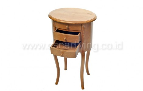 OLC Oval Corner Table