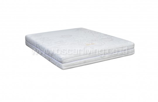 Matto Springbed Meiji Zipper Divan Kozo Sandaran Boston Cream - Fullset White