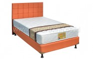 Kasur Superfit Silver Bedset Sydney Sweet Orange