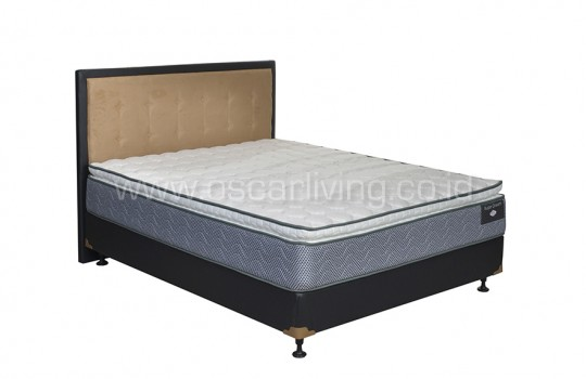 Comforta Super Dream Bedset Queenstown Oreo - Putih