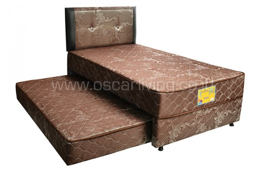 Comforta Superfit 2in1 Twin - Coklat