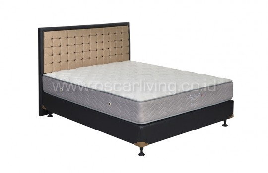 Central Grand Deluxe Pocketed Bedset Victoria Oreo - Putih
