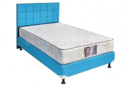 Central Grand Deluxe Star White Bedset Sydney Ocean Blue