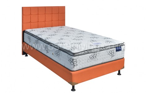 Kasur Romance Feeling Lovely Top Bedset Sydney Sweet Orange