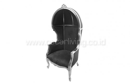 OLC Queency Chair Hitam