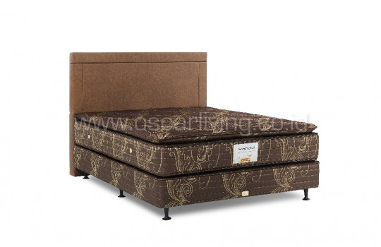 Kasur Musterring Stanford Single Pillowtop sandaran Benfica Divan Stanford