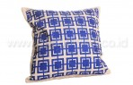 Bantal Sofa Decoration Motif Blue Box Q1808