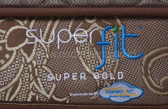 Comforta Superfit Gold Sandaran Queenstown - Coklat