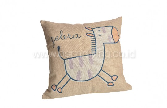 Bantal Sofa Decorasi Motif Animation Horse Q3030