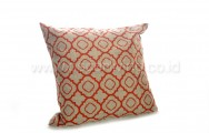 Bantal Sofa Decoration Motif Tribal Line Red 2896