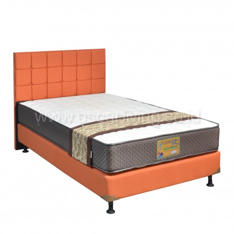 Comforta Superfit Platinum Bedset Sydney Sweet Orange