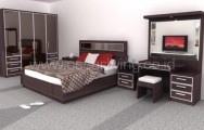 Bed Set Design Ruang Dallas 1