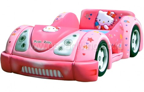 Kasur Bigland BED CAR HELLO KITTY