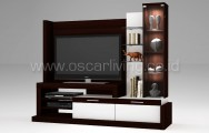 Melody Faster Wall Unit Minirose Wood