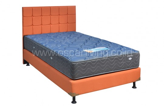 Comforta Super Star Bedset Sydney Sweet Orange