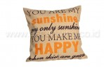 Bantal Sofa Decoration Motif sunshine Q215