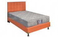 Kasur Central Grand Deluxe Star Light Bedset Sydney Sweet Orange
