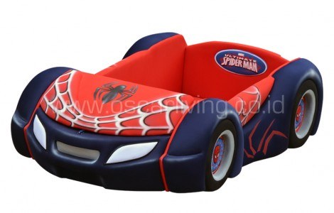 Kasur Bigland BED CAR NEW SPIDERMAN CLASSIC SPORT BAGGAGE SERIES
