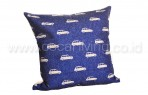 Bantal Sofa Decoration Motif Car Background Blue Q2890