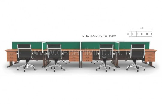 Workstation Grand Furniture Call Center 5C