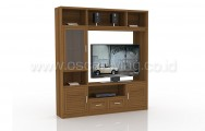 Rak TV Expo WU8218 Teak Wood