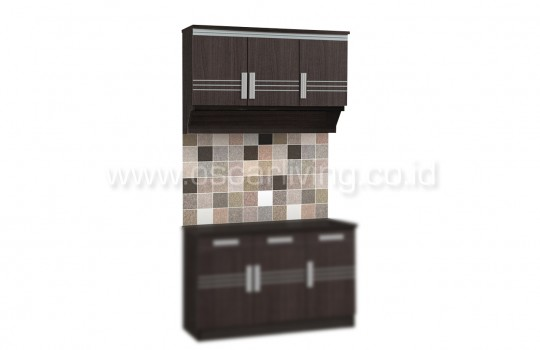Kitchen Set Atas Dan Kitchen Set Bawah Popular KSA/KSB9253