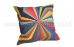 Bantal Sofa Decorative Motif Pelangi QQ492