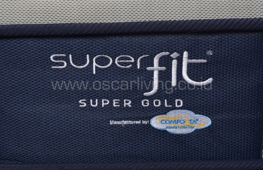Comforta Superfit Gold Sandaran Queenstown - Biru