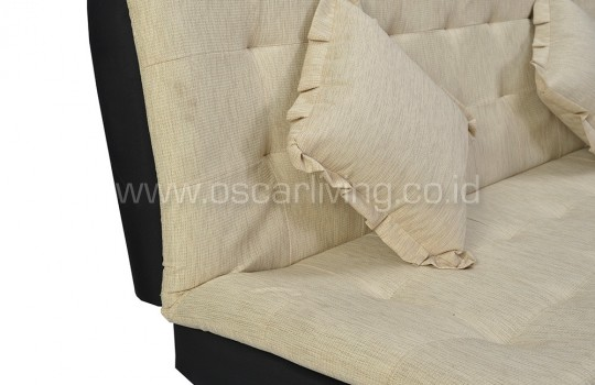 Sofabed Boston Polos - Cream