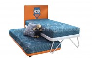 Quantum 2 In 1 Kids Tuin Bed HB Owl