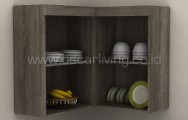 Kitchen Storage Melody Holland Corner HC Sonoma Oak Dark