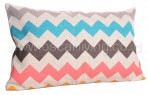 Bantal Sofa Decoration Motif Big Zig Zag Long Q3084
