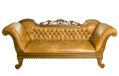 Sofa santai empire coklat
