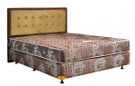 Uniland Standard Coklat Divan Standard Sandaran Queesnstown