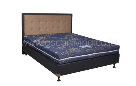 Saveland Orthopedic Bedset Queenstown Oreo - Biru