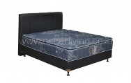 Central Grand Deluxe Single Pillowtop Bedset Vadia Oreo