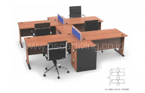 Workstation Grand Furniture Lexus Shared 8B
