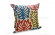Bantal Sofa Decoration Motif Big Leaf 3538