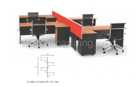 Workstation Grand Furniture Colaborative 11A
