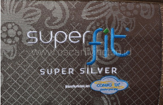 Comforta Superfit Silver Sandaran Queenstown - Coklat