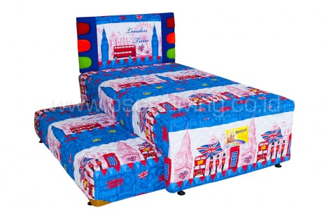 Uniland 2 in 1 Katun  Sandaran London Cornello