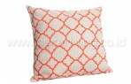 Bantal Sofa Decoration Motif Orange Line Q2897